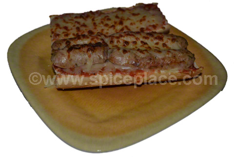 Spatini Turkey Italian Sausage Sandwich