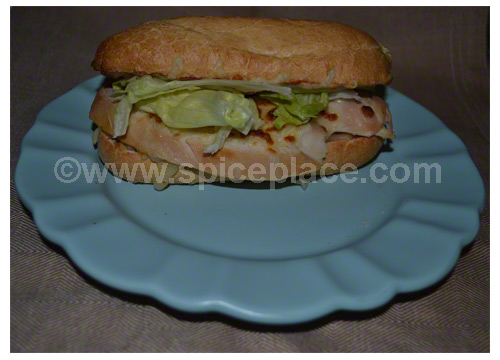 Spatini Chicken Sandwich